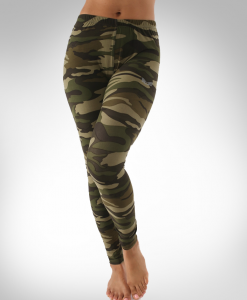 Camo Print Leggings by Bodykit Wear