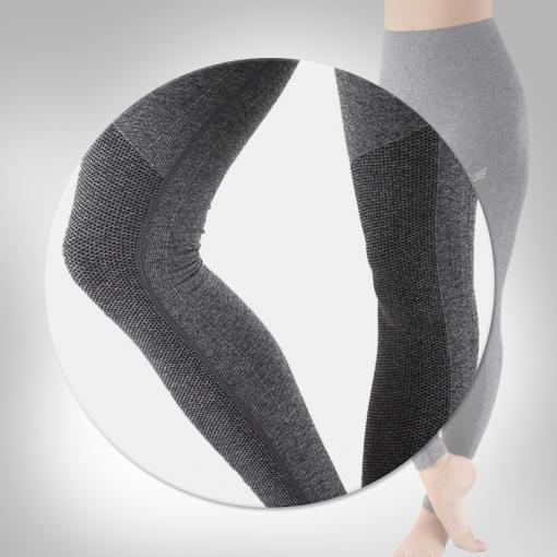 Bodykit Wear Heather Gray Knee Design