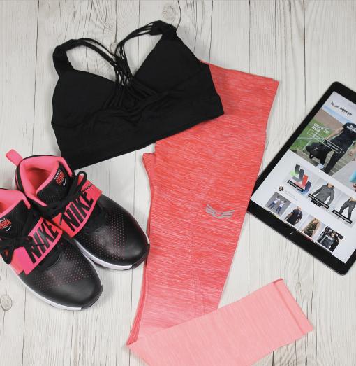Bodykit Wear Pink Ombre Leggings